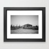 where the wild things grow. Framed Art Print