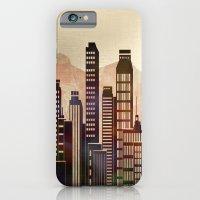 iPhone & iPod Case featuring Metal City - beige by Klara Acel