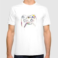 360 Mens Fitted Tee White SMALL
