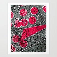 Circle Strip I Art Print