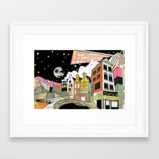Amsterdam to Hollywood Framed Art Print