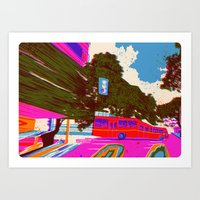 bring your love back in 7 days - Fortuna Series Art Print