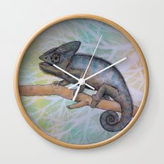 Chameleon(4) Wall Clock