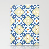 Floor Tile 1 Stationery Cards