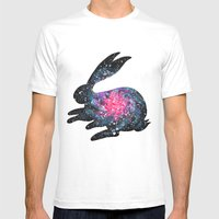 Astral Bunny 1 Mens Fitted Tee White SMALL