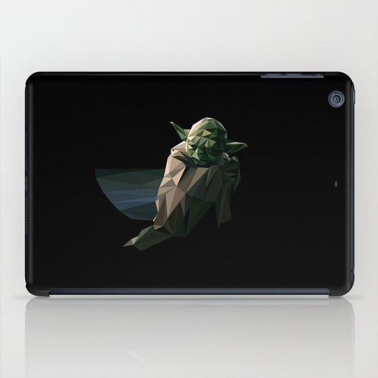 Geometric Yoda iPad Case