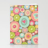 Fun Circles Stationery Cards