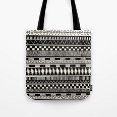 black//white Tote Bag
