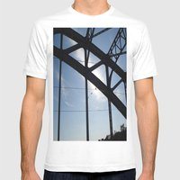 Plenum Mens Fitted Tee White SMALL
