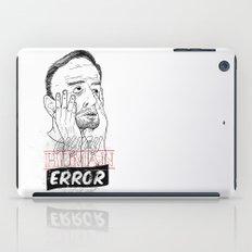 enjoy human error iPad Case