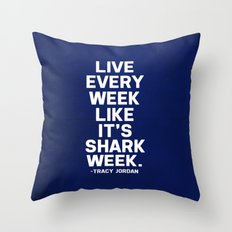 30 Rock - Tracy Jordan Throw Pillow