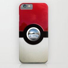 Retro Chrome pokeball iPhone 4 4s 5 5c, ipod, ipad, pillow case tshirt and mugs iPhone 6 Slim Case