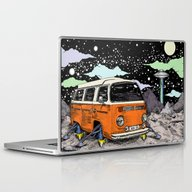 Moon Ride Color Laptop & iPad Skin
