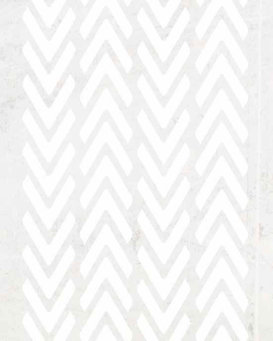 Chevron Tracks Canvas Print