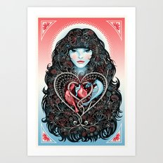 The Heart is a Lonely Hunter Art Print