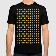 Coins, Boxes and Power ups, Oh my! SMALL Mens Fitted Tee Black