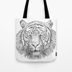 The Tiger's head Tote Bag