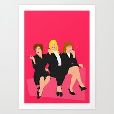 The First Wives  Art Print
