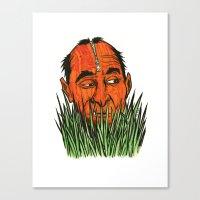 Grassman Canvas Print