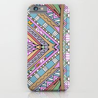 Sweet Funky Retro Mandal… iPhone 6 Slim Case