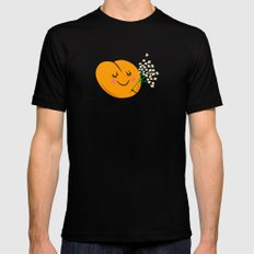Apricot St Germain Mens Fitted Tee Black SMALL
