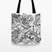 ARUP Fantasy Architecture Tote Bag