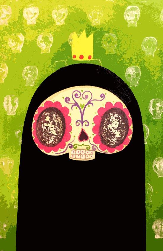 King Skull Guy Canvas Print