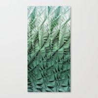 Cactus wall Canvas Print