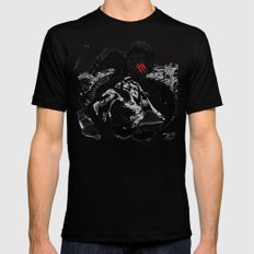Bruce - Enter the Dragon SMALL Black Mens Fitted Tee
