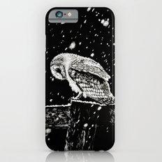 Snowfall at Night (Owl) iPhone 6 Slim Case