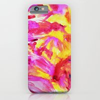 iPhone & iPod Case featuring Strawberry Lemonade - Watercolor  by Allyson Johnson
