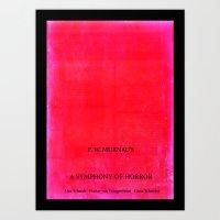 Nosferatu - A Symphony O… Art Print