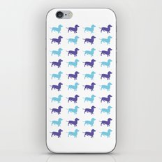 Sausage Dog Pattern iPhone & iPod Skin