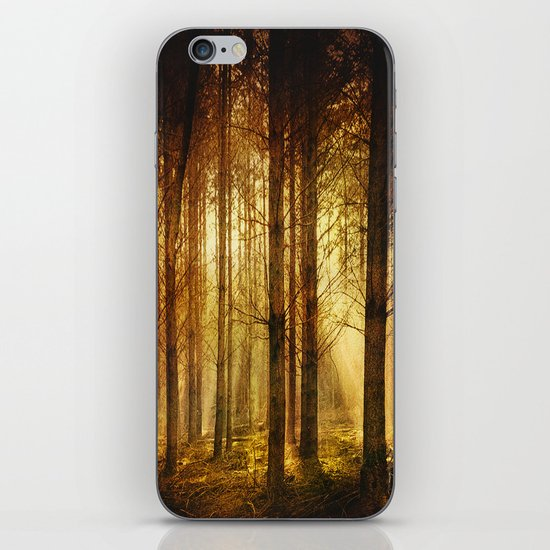 Golden Nature. iPhone & iPod Skin