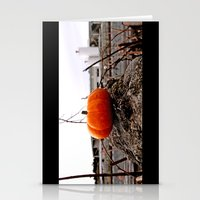 Urban grit pumpkin Stationery Cards