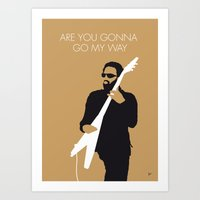 No050 MY LENNY KRAVITZ M… Art Print