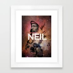 Neil. Framed Art Print
