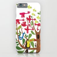 iPhone & iPod Case featuring summer tree by Joanne Liu