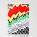 Isometric Harlequin #1 Stationery Cards