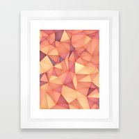 Meduzzle: Blond Framed Art Print
