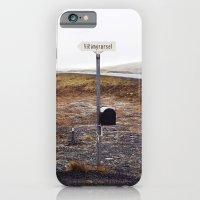 Post box, Iceland iPhone 6 Slim Case