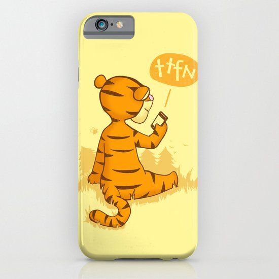 Ta Ta For Now iPhone & iPod Case
