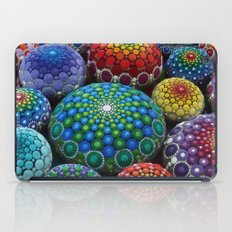 Jewel Drop Mandala Stone… iPad Case