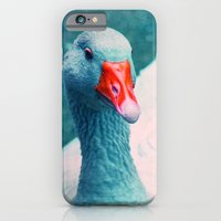iPhone & iPod Case featuring miss ducky by Claudia Drossert