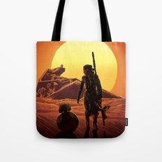 A Force Awakens Tote Bag