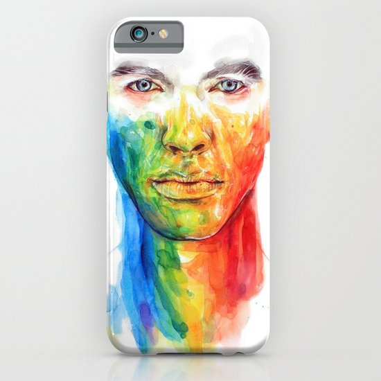 The colors of my life iPhone & iPod Case