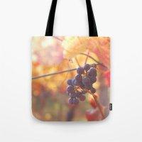 Fall Grapes Tote Bag