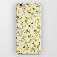 vintage floral print iPhone & iPod Skin
