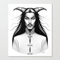 Devil Man Canvas Print