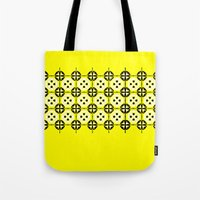 Yellow Fru Fru Tote Bag